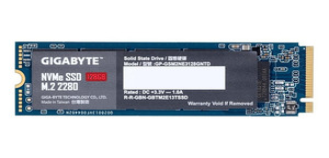 HD SSD M.2 128GB GIGABYTE 2280 NVME - GP-GSM2NE3128GNTD